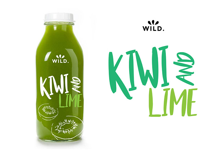 Wild.果汁饮料包装设计