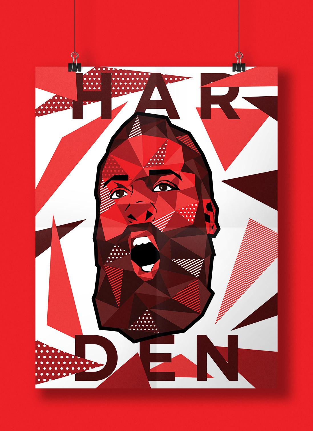 生活资讯_NBA球星POP艺术插画设计 - 设计之家