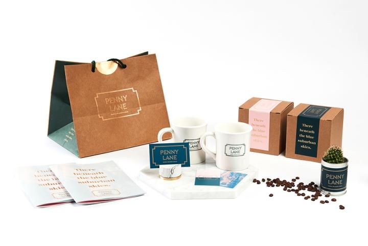 Penny Lane咖啡馆品牌视觉设计