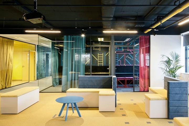 游戏开发商nanobit办公室设计 设计之家