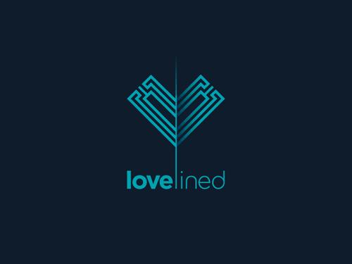 30款精美的艺术线条logo设计