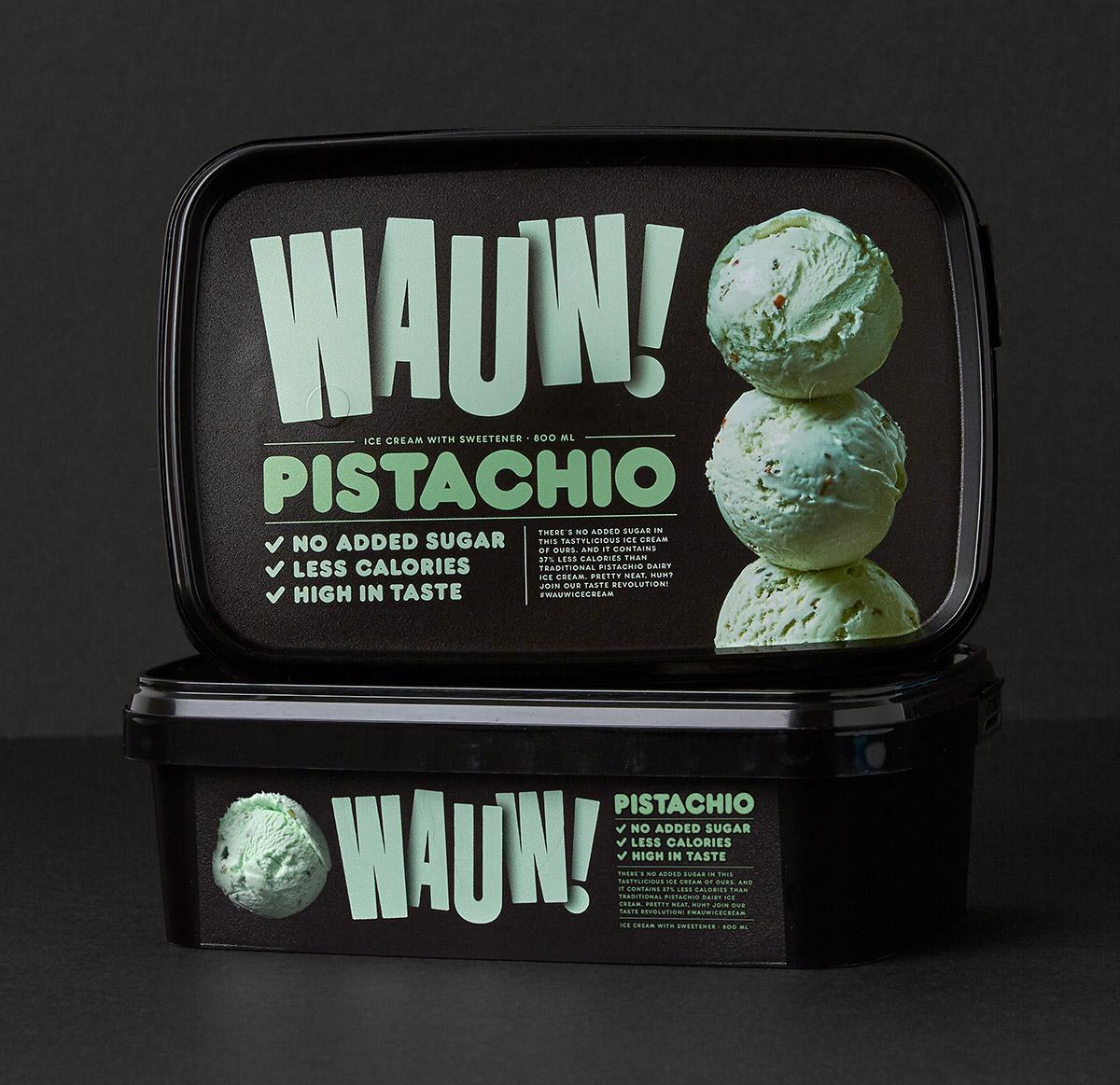 Wauw!冰淇淋包装设计