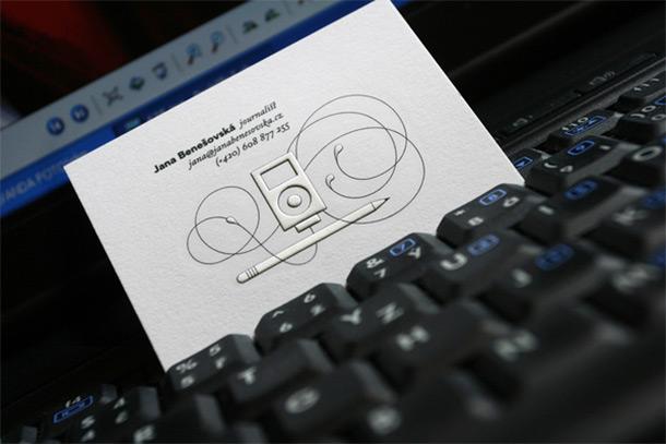27款记者名片设计欣赏