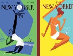 Christoph Niemann為《紐約客》設計的封麵插畫