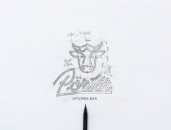 Porter餐厅品牌形象设计