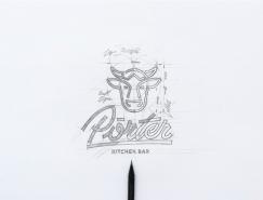 Porter餐廳品牌形象設計