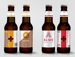 Ombre啤酒品牌形象和包裝設計