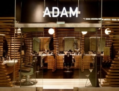 伦敦ADAM时尚理发店设计