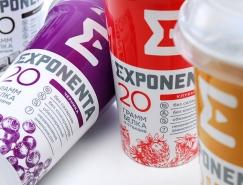 EXPONENTA高蛋白功能飲料包裝設計