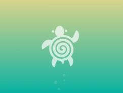 32款漂亮的螺旋状元素logo设计