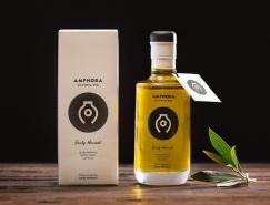 Amphora Olympia橄榄油包装设计