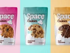 SPACE COOKIES饼干包装设计