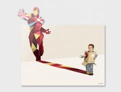小孩的超级英雄梦:Jason Ratliff插画作品欣赏