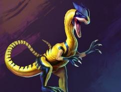 Kolby Larsen恐龙版的超级英雄
