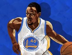 Ryan Simpson: NBA球星插画设计欣赏