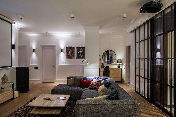 经典时尚的基辅现代公寓设计
