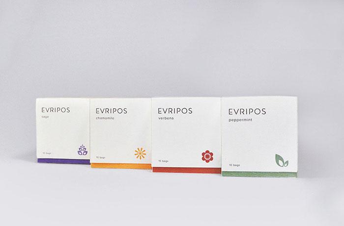 Evripos茶包装设计