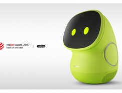 ROOBO智能機器人BeanQ拿下2017紅點最佳設計獎