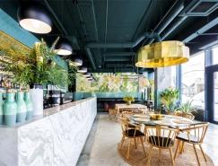 輕鬆溫暖的工業風格Kane餐館設計