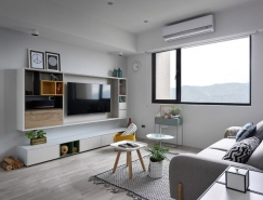 散发别致舒适感觉的北欧风格公寓设计