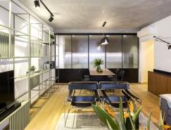 工业美学风格的现代气息公寓装修设计