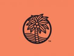 标志设计元素应用实例:椰树