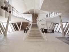 奥地利极简前卫的loft阁楼空间设