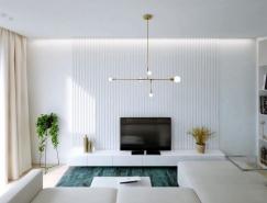 轻松的配色 简约的装饰:3个一居室小公寓澳门金沙网址
