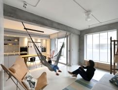 台湾极简风格当代公寓设计