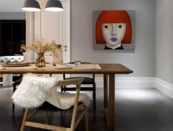 台中126平米漂亮优雅的现代公寓装修设计