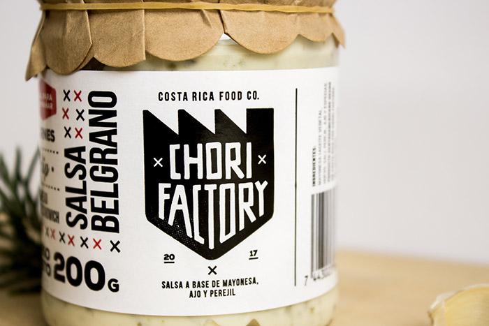 Chorifactory调味酱包装设计