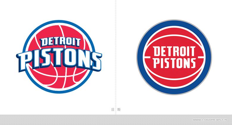 NBA底特律活塞队更换新LOGO