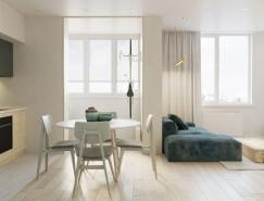 5個超小空間的小公寓設計