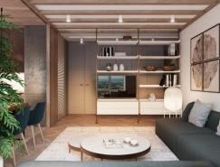 3個現代時尚的公寓裝修設計