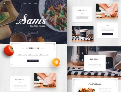 40個美味餐廳概念UI界麵設計