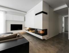 立陶宛黑白極簡風格公寓設計