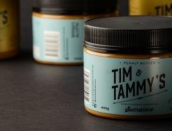 TimTammy's花生酱品牌和包装设计