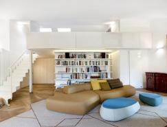 210平米轻松简约的阁楼空间装修设计