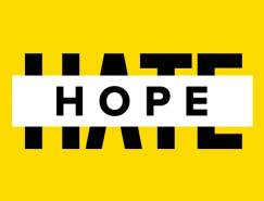 英国反种族歧视团体Hope Not Hate的新形象