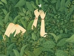 Jin Xingye超现实幻想插画设计
