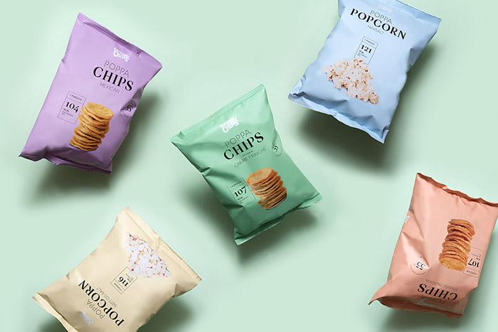Poppa薯片包装设计