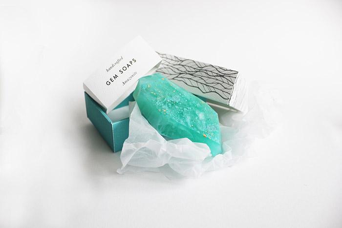 Gem Soaps香皂包装设计