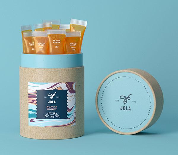 25款现代时尚的食品包装设计