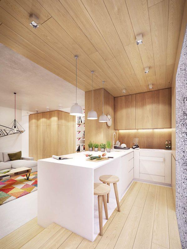 木质清新风格装修设计效果图
