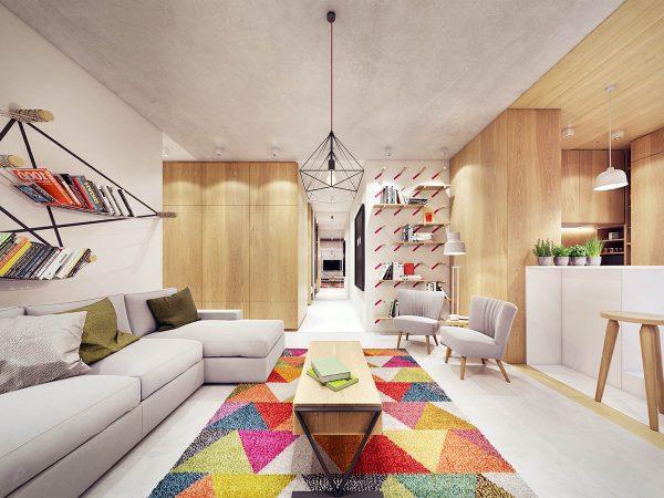 木质清新风格装修设计效果图 - 设计之家