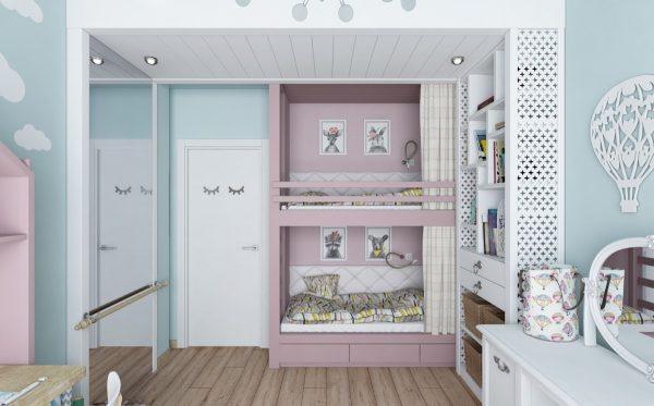 7个可爱有趣的儿童房设计