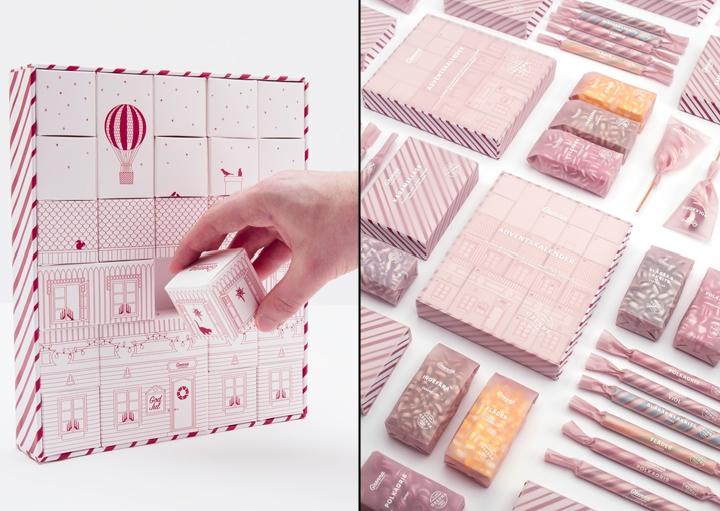 Grenna Polkagriskokeri糖果包装设计