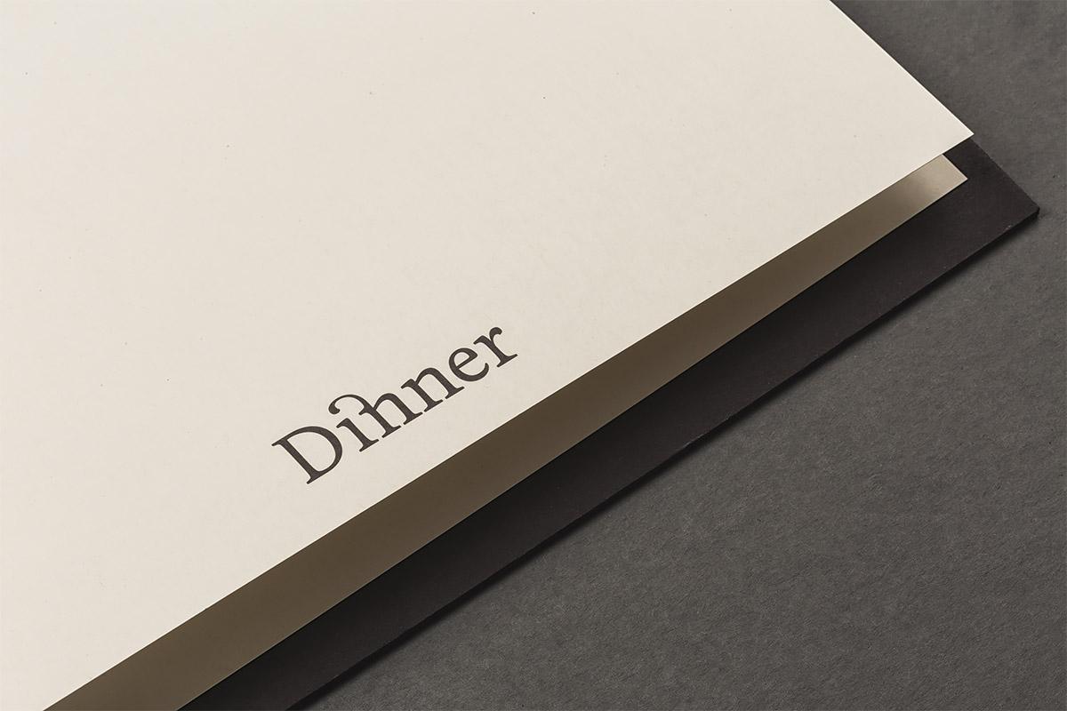 Common Lot餐厅品牌视觉形象设计