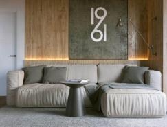 3個漂亮的一居室小公寓設計