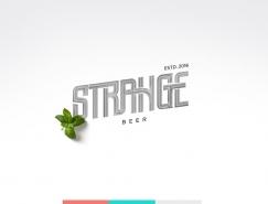 Strange啤酒包装设计